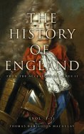 ebook: The History of England from the Accession of James II (Vol. 1-5)