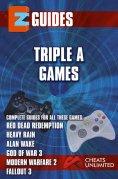 eBook: Triple A Games - red dead redemption - Heavy Rain - Alan wake -God of War 3 - Modern Warfare 3