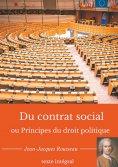 eBook: Du contrat social ou Principes du droit politique
