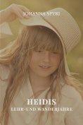 eBook: Heidis Lehr- und Wanderjahre