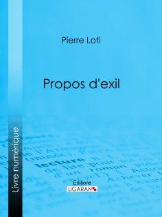 eBook: Propos d'exil