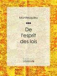 eBook: De l'esprit des lois