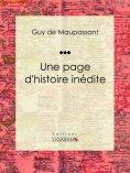 eBook: Une page d'histoire inédite