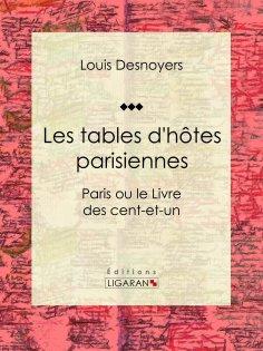 ebook: Les tables d'hôtes parisiennes