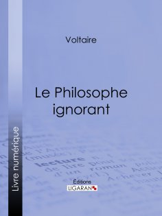 eBook: Le Philosophe ignorant
