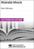 eBook: Misérable Miracle d'Henri Michaux