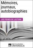eBook: Mémoires, journaux, autobiographies