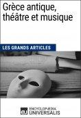 eBook: Grèce antique, théâtre et musique