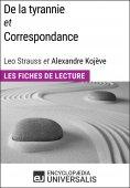 eBook: De la tyrannie et Correspondance, Leo Strauss et Alexandre Kojève