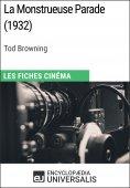 eBook: La Monstrueuse Parade de Tod Browning
