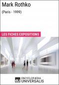 eBook: Mark Rothko (Paris - 1999)