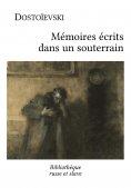 eBook: Mémoires écrits dans un souterrain