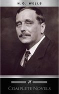 eBook: The Complete Novels of H. G. Wells (Over 55 Works: The Time Machine, The Island of Doctor Moreau, Th