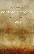 ebook: The Brontë Sisters: The Complete Novels (Unabridged): Janey Eyre + Shirley + Villette + The Professo