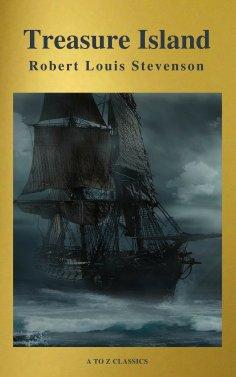 eBook: Treasure Island ( Active TOC, Free Audiobook) (A to Z Classics)