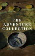 eBook: The Adventure Collection: Treasure Island, The Jungle Book, Gulliver's Travels, White Fang, The Merr