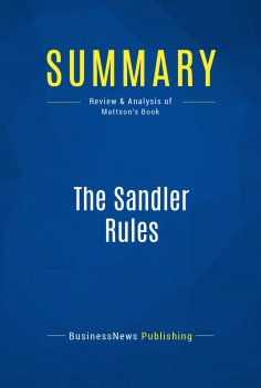 eBook: Summary: The Sandler Rules