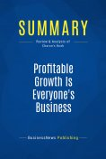 eBook: Summary: Profitable Growth Is Everyone's Business