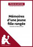 eBook: Mémoires d'une jeune fille rangée de Simone de Beauvoir (Fiche de lecture)