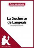 ebook: La Duchesse de Langeais d'Honoré de Balzac (Fiche de lecture)