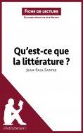 ebook: Qu'est-ce que la littérature? de Jean-Paul Sartre (Fiche de lecture)