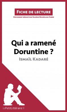 ebook: Qui a ramené Doruntine ? d'Ismaïl Kadaré (Fiche de lecture)