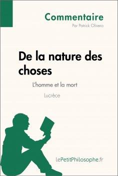 eBook: De la nature des choses de Lucrèce - L'homme et la mort (Commentaire)