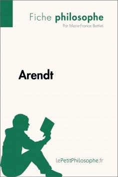 eBook: Arendt (Fiche philosophe)
