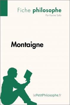 ebook: Montaigne (Fiche philosophe)