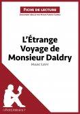 ebook: L'Étrange Voyage de Monsieur Daldry de Marc Levy (Fiche de lecture)