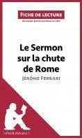 eBook: Le Sermon sur la chute de Rome de Jérôme Ferrari (Fiche de lecture)
