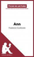 ebook: Ann de Fabrice Guénier (Fiche de lecture)