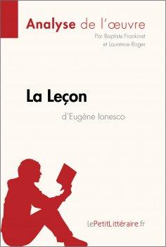 eBook: La Leçon d'Eugène Ionesco (Analyse de l'oeuvre)