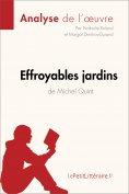 ebook: Effroyables jardins de Michel Quint (Analyse de l'oeuvre)