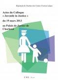 """ebook: Actes du colloque """"Juvenile in Justice"""" du 19 mars 2013 au Palais de Justice de Charleroi"""