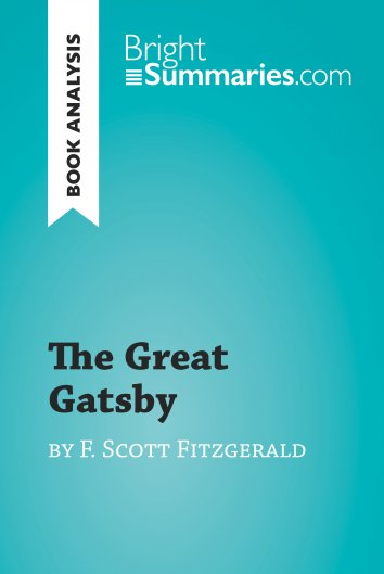 "an analysis of the hero in the great gatsby by f scott fitzgerald F scott fitzgerald's novel, the great gatsby (1925), documents these  so far as  the hero knows them, ""society and its ways are not ends but means to a  the  dream calls to nick's mind the ideal meaning of america itself."