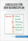 eBook: Checkliste für den Businessplan