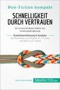 eBook: Schnelligkeit durch Vertrauen: Ein unverzichtbarer Faktor zur Leistungssteigerung