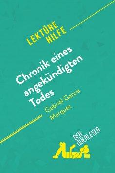 eBook: Chronik eines angekündigten Todes von Gabriel García Márquez (Lektürehilfe)