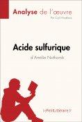 ebook: Acide sulfurique d'Amélie Nothomb (Analyse de l'oeuvre)