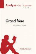 ebook: Grand frère de Mahir Guven (Analyse de l'oeuvre)