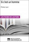 eBook: Si c'est un homme de Primo Levi