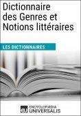 eBook: Dictionnaire des Genres et Notions littéraires