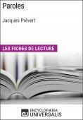 eBook: Paroles de Jacques Prévert