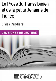 eBook: La Prose du Transsibérien et de la petite Jehanne de France de Blaise Cendrars