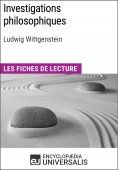 eBook: Investigations philosophiques de Ludwig Wittgenstein