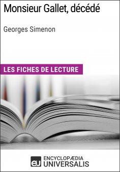 eBook: Monsieur Gallet, décédé de Georges Simenon