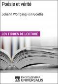 eBook: Poésie et vérité de Goethe