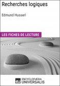 eBook: Recherches logiques d'Edmund Husserl