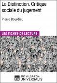 eBook: La Distinction. Critique sociale du jugement de Pierre Bourdieu